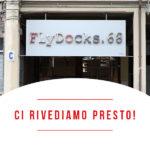 chiusura temporanea FlyDocks a Torino per direttive ministeriali contro Covid-19